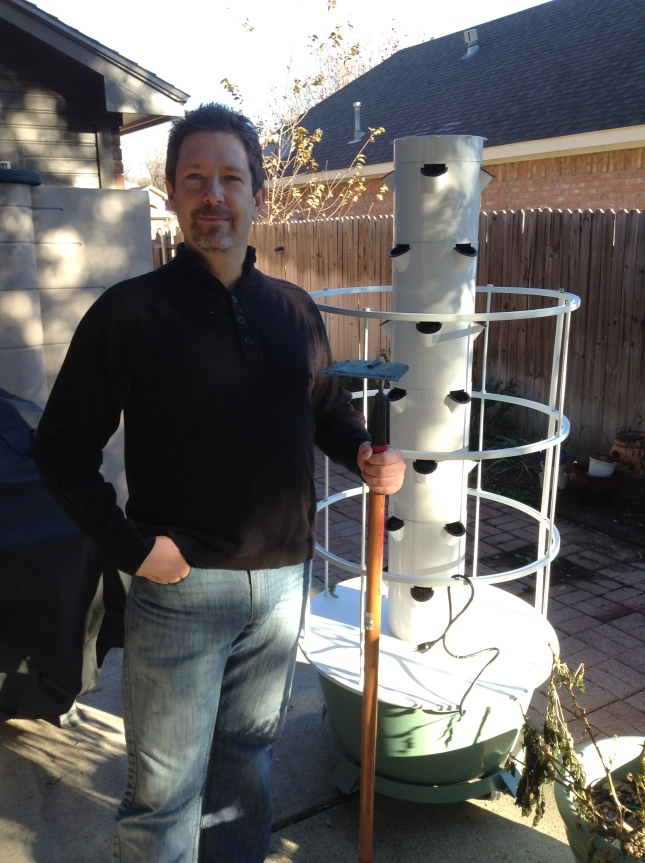 Our New Aeroponic Garden!